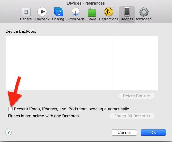 Cara Hentika Itunes Terbuka Otomatis Saat Iphone Terhubung Ke Mac 3
