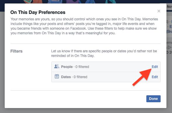 Cara Hentikan Facebook Menampilkan Kenangan Dengan Pengguna Lain 1