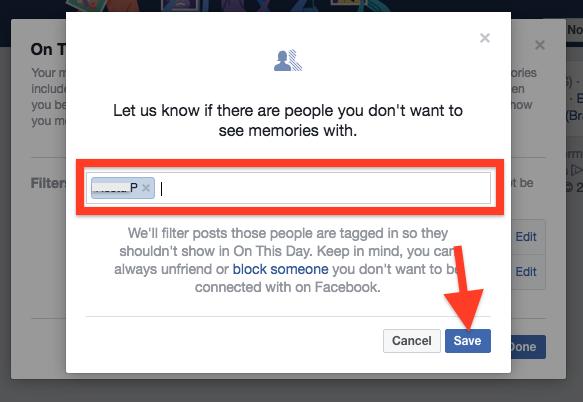 Cara Hentikan Facebook Menampilkan Kenangan Dengan Pengguna Lain 2