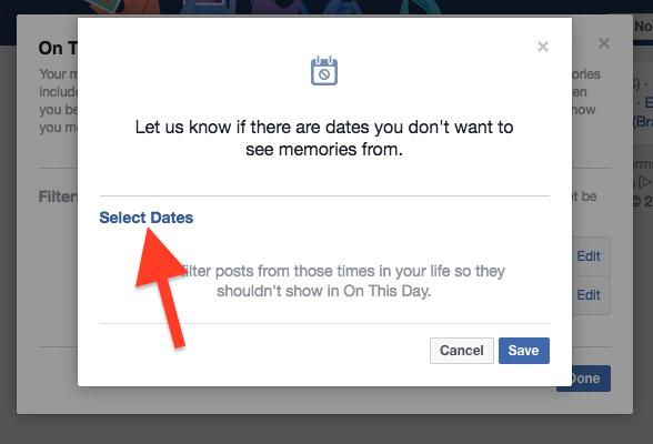 Cara Hentikan Facebook Menampilkan Kenangan Dengan Pengguna Lain 4