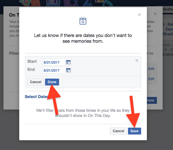 Cara Hentikan Facebook Menampilkan Kenangan Dengan Pengguna Lain 5