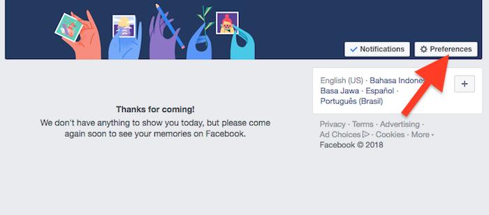 Cara Hentikan Facebook Menampilkan Kenangan Dengan Pengguna Lain