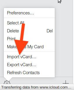 Cara Impor Dan Ekspor Kontak Dari Google Ke Icloud