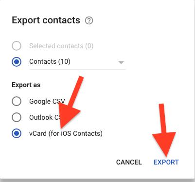 Cara Impor Dari Kontak Google Ke Icloud 1