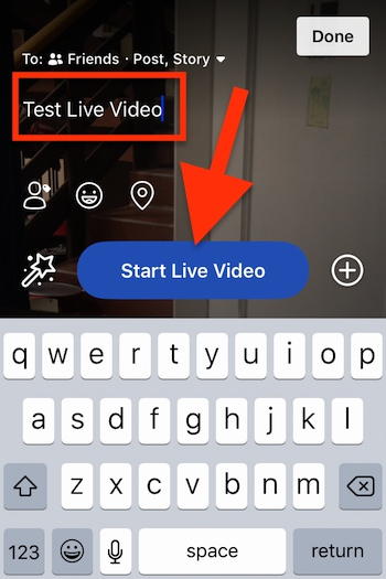 Cara Live Streaming Video Di Facebook Di Iphone Dan Ipad 5