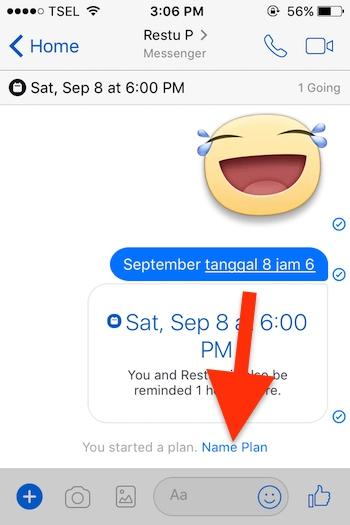 Cara Membuat Event Di Aplikasi Messenger Facebook Untuk Iphone 2