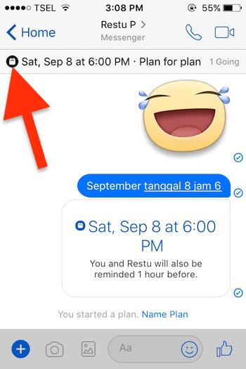 Cara Membuat Event Di Aplikasi Messenger Facebook Untuk Iphone 4