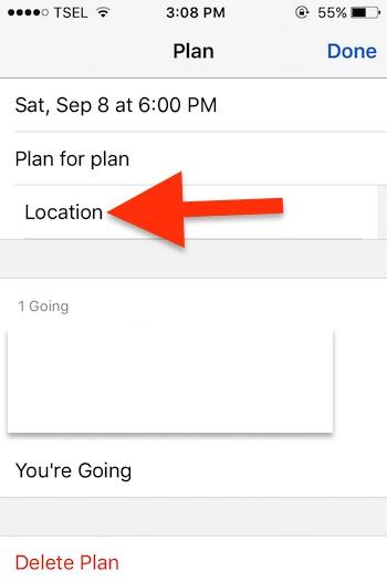 Cara Membuat Event Di Aplikasi Messenger Facebook Untuk Iphone 5