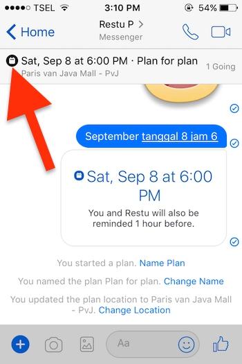 Cara Membuat Event Di Aplikasi Messenger Facebook Untuk Iphone 8