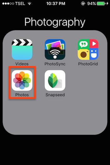Cara Memilih Banyak Foto Dengan Fitur Swipe Gesture