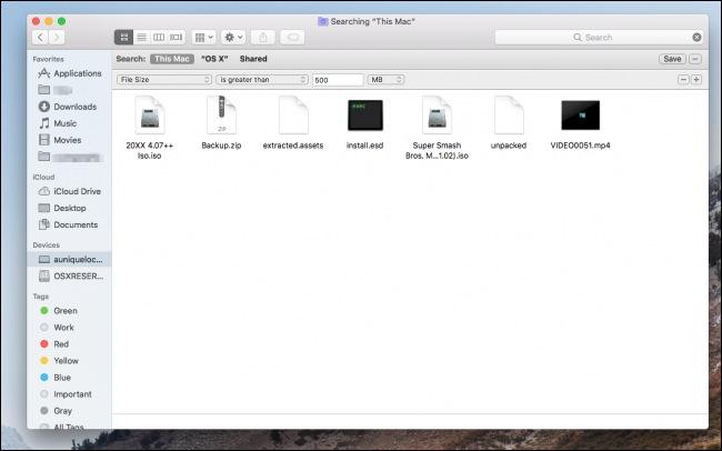 Cara Mencari File Besar Dan Menghapusnya Di Macos 3