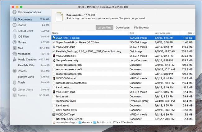 Cara Mencari File Besar Dan Menghapusnya Di Macos 4