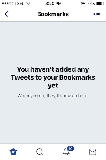 Cara Menggunakan Fitur Bookmarks Pada Twitter 10