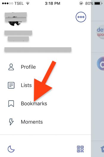 Cara Menggunakan Fitur Bookmarks Pada Twitter 3