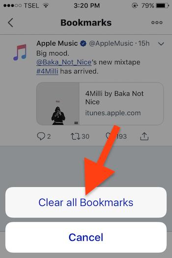 Cara Menggunakan Fitur Bookmarks Pada Twitter 8