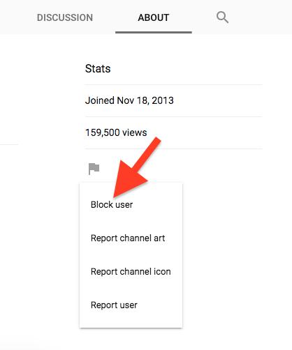 Cara Menghentikan Akun Youtube Dari Memberi Komentar Di Video Anda 1