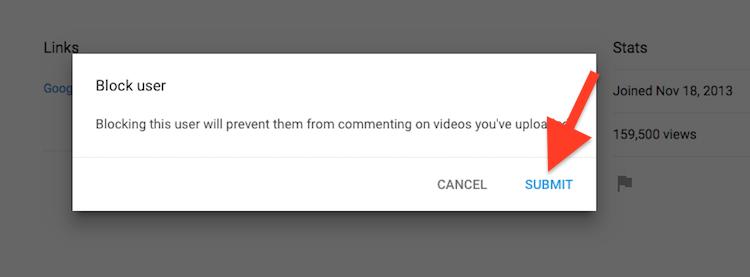 Cara Menghentikan Akun Youtube Dari Memberi Komentar Di Video Anda 2