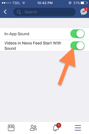 Cara Nonaktifkan Fitur Autoplay Suara Pada Aplikasi Facebook 1