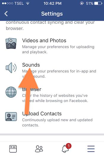 Cara Nonaktifkan Fitur Autoplay Suara Pada Aplikasi Facebook