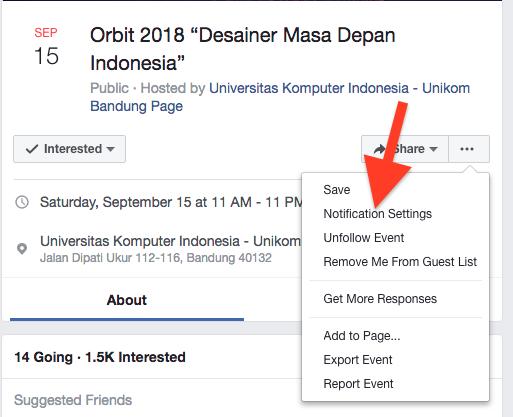 Cara Nonaktifkan Pemberitahuan Acara Pada Facebook Di Iphone Dan Mac : Pc 8