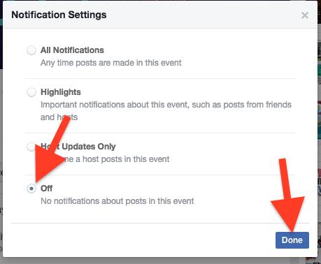 Cara Nonaktifkan Pemberitahuan Acara Pada Facebook Di Iphone Dan Mac : Pc 9