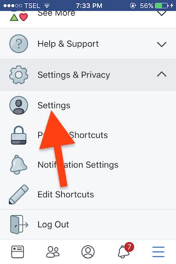Cara Sembunyikan Akun Profil Di Pencarian Facebook 2