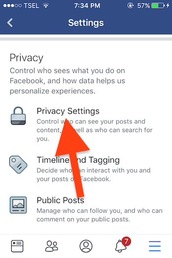 Cara Sembunyikan Akun Profil Di Pencarian Facebook 3