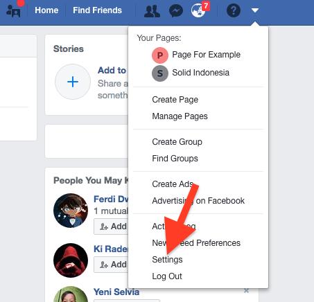 Cara Sembunyikan Akun Profil Di Pencarian Facebook 8