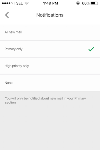 Cara Ubah Notifikasi Pada Gmail Di Iphone Dan Mac : Pc 1