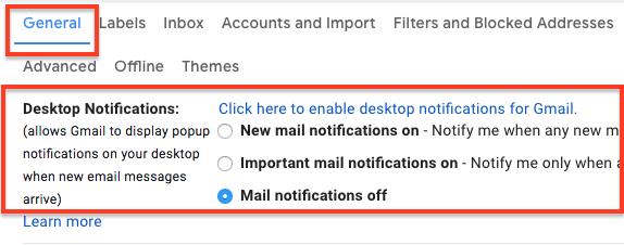 Cara Ubah Notifikasi Pada Gmail Di Iphone Dan Mac : Pc 4