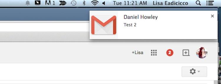Notifikasi Pada Gmail