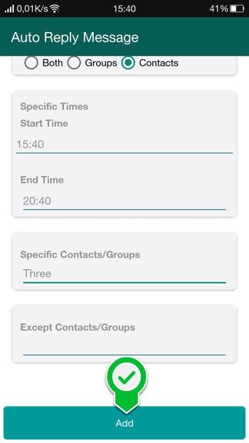 2 Cara Membalas Pesan Secara Otomatis Di Whatsapp Android 10