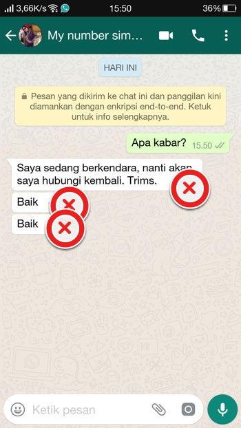 2 Cara Membalas Pesan Secara Otomatis Di Whatsapp Android 16