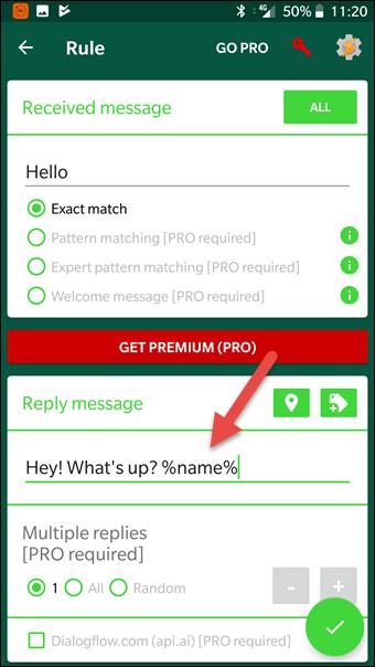 2 Cara Membalas Pesan Secara Otomatis Di Whatsapp Android 2