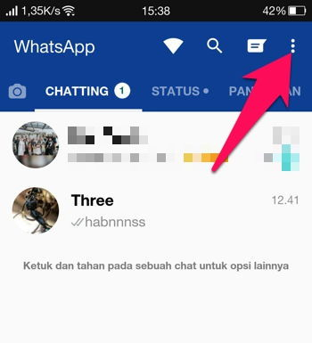 2 Cara Membalas Pesan Secara Otomatis Di Whatsapp Android 5