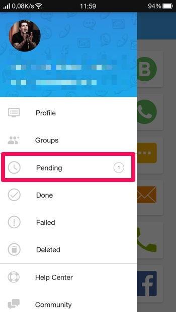 2 Cara Membuat Pesan Terjadwal Di Whatsapp Android 11a