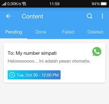 2 Cara Membuat Pesan Terjadwal Di Whatsapp Android 12