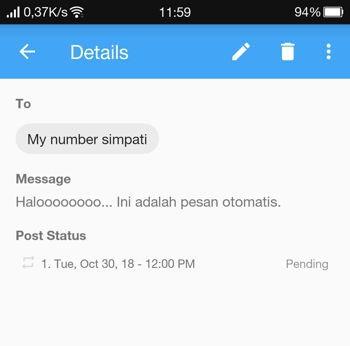 2 Cara Membuat Pesan Terjadwal Di Whatsapp Android 13