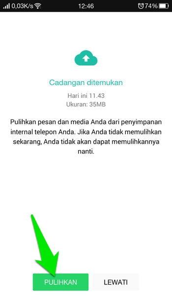 Beralih Dari Whatsapp Versi Resmi Ke Yowhatsapp Tanpa Kehilangan Chat 8