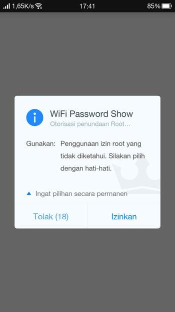Cara Melihat Password Wi Fi Yang Tersimpan Di Android 8