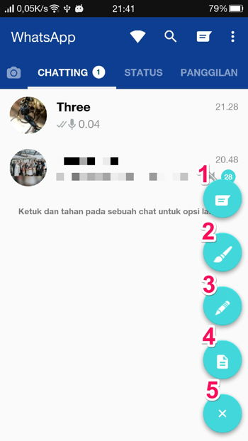 Floating Button Gbwhatsapp