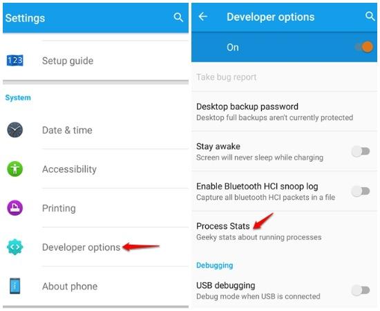 Aplikasi Untuk Memantau Kinerja Sistem Perangkat Android 10