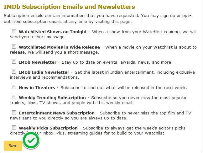 Cara Berhenti Berlangganan Email Dari Imdb 4