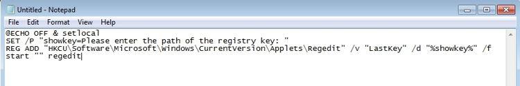 Cara Cepat Mengakses Key Registry Di Windows A