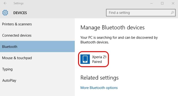 Cara Connect Ponsel Android Ke Pc Windows 10 Gunakan Bluetooth 8