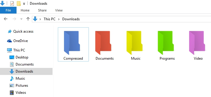 Cara Ganti Warna Folder Di Windows 3
