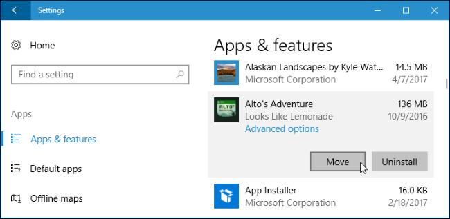 Cara Install Atau Pindahkan Aplikasi Ke Drive Lain Di Windows 10 2