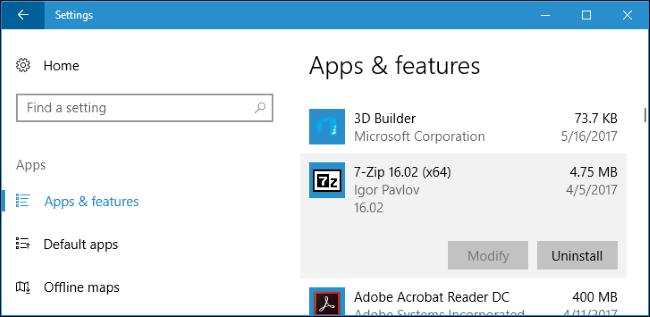 Cara Install Atau Pindahkan Aplikasi Ke Drive Lain Di Windows 10 4