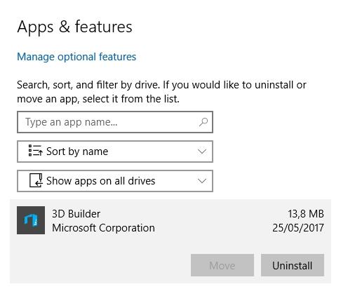 Cara Install Atau Pindahkan Aplikasi Ke Drive Lain Di Windows 10 5