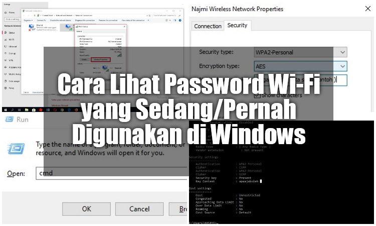Cara Lihat Password Wi Fi Yang Sedang Atau Pernah Digunakan Di Windows
